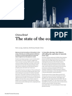 China Brief the State of the Economy Vf