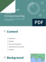 Nashik Rural Youth Entrepreneurship
