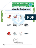 Ficha Ejemplos de Conjuntos Para Tercero de Primaria