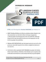 Workbook Webinar UAF