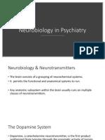 Neurobiology in Psychiatry