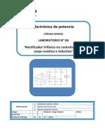 Lab04 - Rectificador Trifasico No Controlado AVANCE