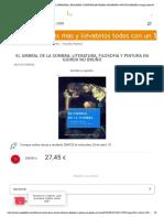 El Umbral de La Sombra_ Literatura, Filosofia y Pintura en Giorda No Bruno _ Nuccio Ordine _ Comprar Libro 9788498412208