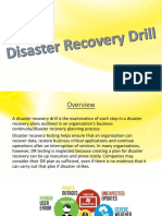 Disaster Recovery Drill