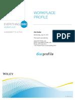 ED Workplace Profile Sample Report