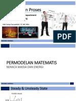 (2) Permodelan Matematis (Neraca Massa & Energi).pdf
