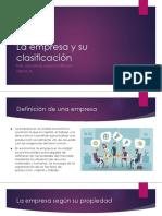 La Empresa Tecnología 4F