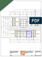 Kitchen Floorplan Elevations