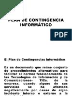 9 Plan de Contingencia Informático