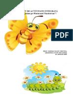 PROIECT DE ACTIVITATE INTEGRATĂ- inspectie  curenta I gr 2 (1).doc