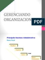 GERENCIANDO ORGANIZACIONES