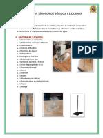 07. Dilatación Térmica de Sólidos y Líquidos