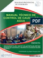 manual tecnico de manejo de caudal de truchas