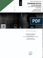 RAMIREZ ALDARACA - Criminalística. Nuevos Paradigmas