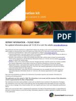 Australia - Mango Information Kit (1999)