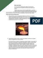 Fabricación Del Acero en Hornos Eléctricos y Utilidad en La Ingeniería Civil
