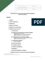 Especificaciones T Para Ortofotos Digitales IGM
