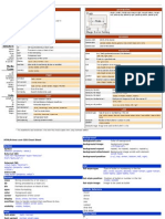 CSS Cheat Sheet Compilations