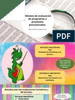 Métodos de Evaluación de Programas y Proyectos Psicosociales. (1)