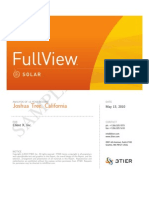 3TIER FullView Solar Site CVA Report Sample