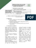 Informe 1 EDTA