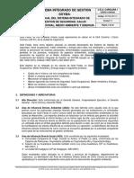SSYMA-M01.01 Manual Del Sistema de Gestión SSYMA V11