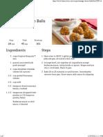 Sausage Cheese Balls Recipe - BettyCrocker