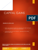 Capital Gains Ppt