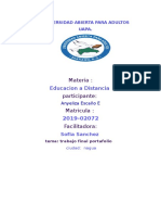 Educacion a d Anye Trabajo Finaaaaaaaaaal