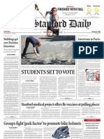 The Stanford Daily, Nov. 2, 2010