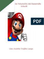 Informe de Valoracion Infantil de Lian Andres Trujillo Largo