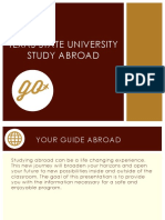 Study Abroad Pre-Departure Information