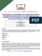 Alfredo Dominguez Escribano 02 Instrumento de Medición