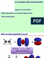 The Fundamentals of Catalytic Olefin Polimerization