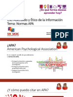 Evaluar Fuentes de Información APA