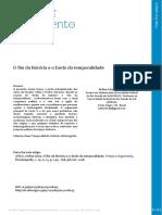 ÁVILA, Arthur Lima de. O fim da história e o fardo da temporalidade.pdf