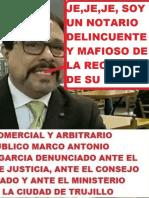 Denuncia contra  Notario Corrupto y delincuente Jose Alberto Huachillo Cevallos