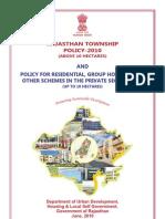Rajasthan Township Policy