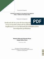 tesis ineficacia de los actos de investigacion preliminar en la escena del crimen.pdf