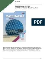 Matematika Untuk Smama Kelas Xi k13n