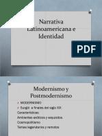 Narrativa Latinoamericana e Identidad 4 MEDIO