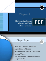 Chap002 Mission, Vision and Social Responsibility