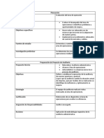 5 etapas de auditoria administrativa