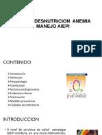 Desnutricion Anemia