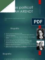 H. Arendt Qué es política.pptx