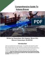 Comprehensive Katana Braver Guide v2.512 by Dreamslayer Ahri