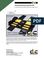 Enviando DIVEHCO - FL-110e - Línea Livianos