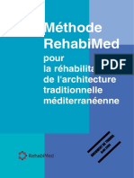 [REHABIMED]-Méthode RehabiMed Pour La Réhabilitation de l'Architecture Traditionnelle Méditerranéenne