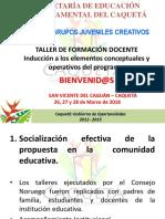 Implementación Del Modelo Educativo Grupos Jueveniles Creativos