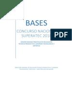 Bases Concurso Nacional Superatec 2018 Buenas Prácticas
